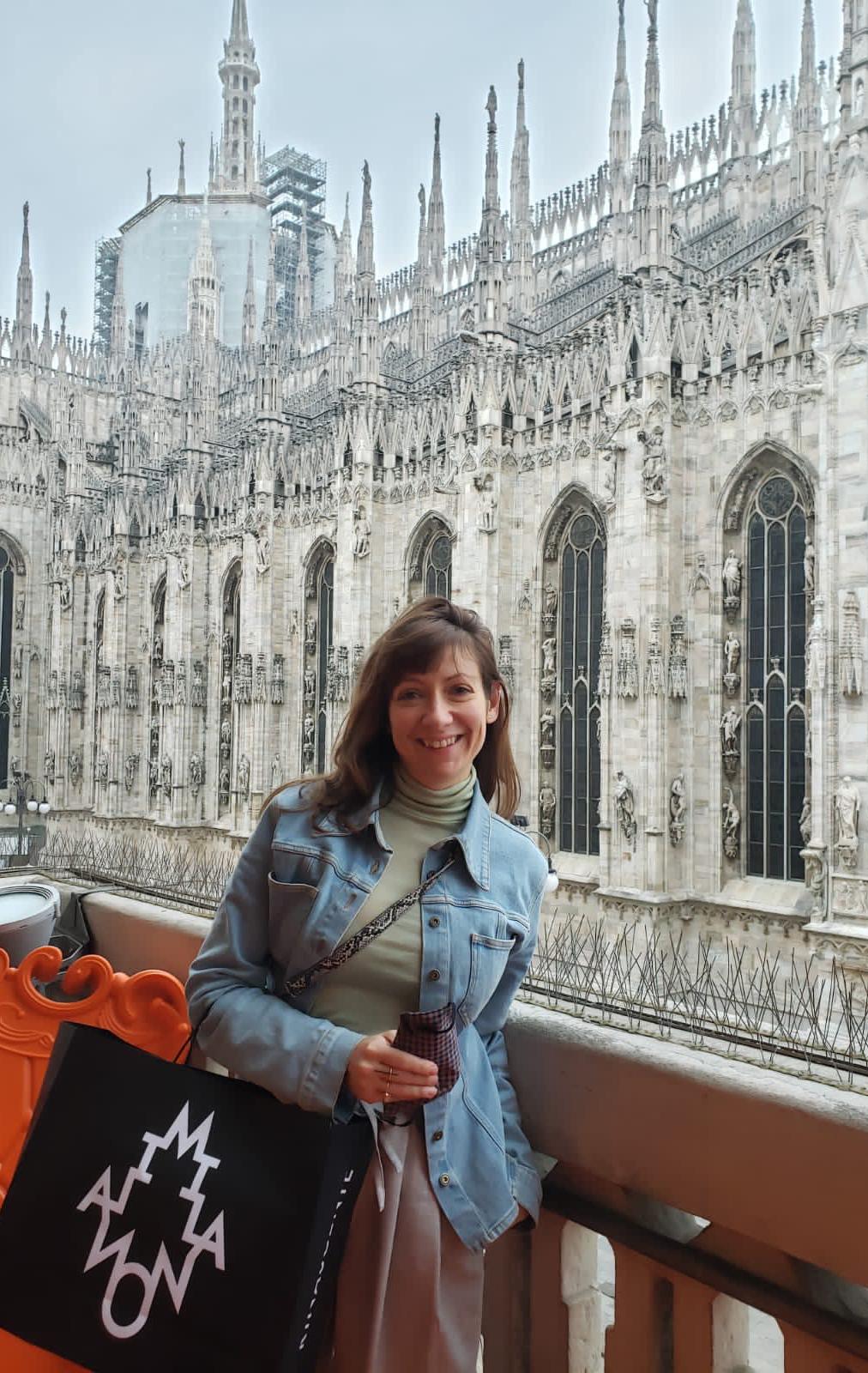Italie - Cathedrale Milan - Ariane Simard Styliste